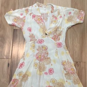 Free People collared dress